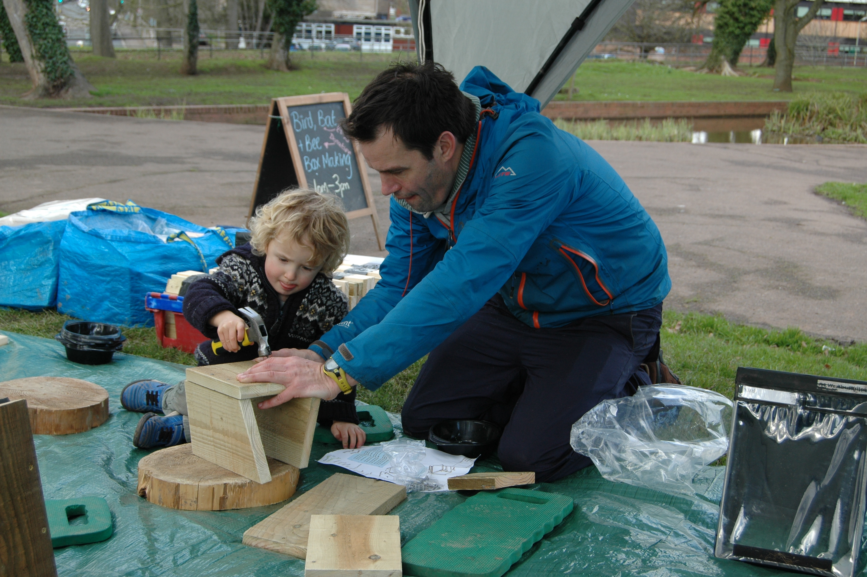 Nest Box Building at Seaton Wetlands 11am to 12pm (Tues 18 Feb)